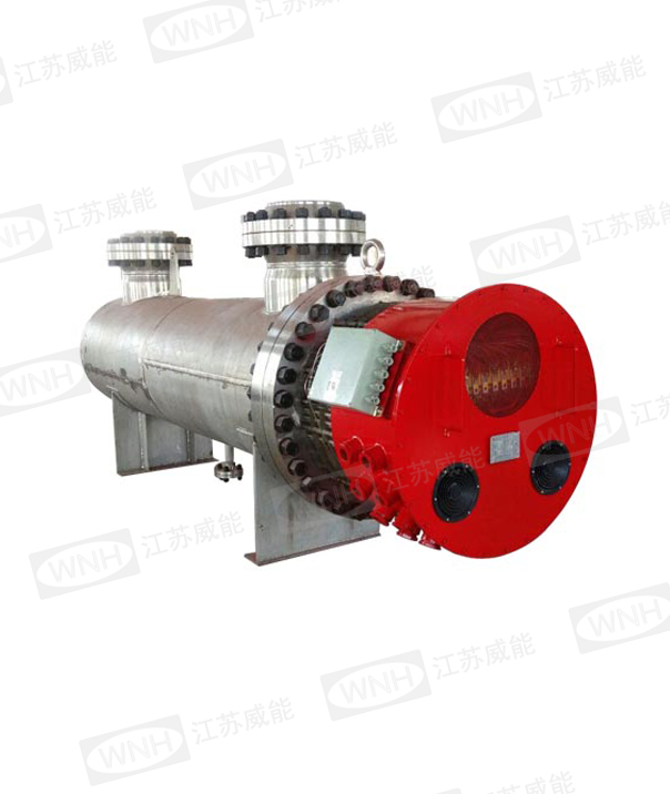 Compressed gas electric heater