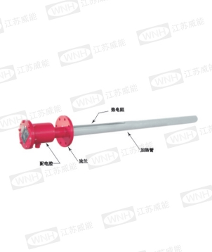 Explosion proof storage tank type electric heater