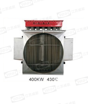 Air duct type explosion-proof electric heater